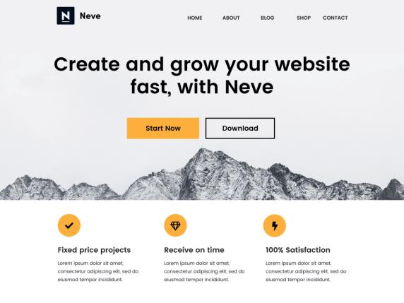 Neve-top-best-responsive-popular-WordPress-themes-EverestThemes