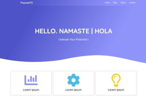 PopularFX-best-free-responsive-popular-WordPress-themes-EverestThemes