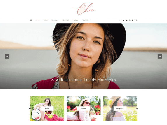 Chic-lite-top-best-free-stylish-WordPress-themes-EverestThemes