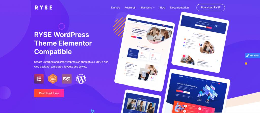 Ryse-best-free-premium-seo-friendly-WordPress-themed-EverestThemes