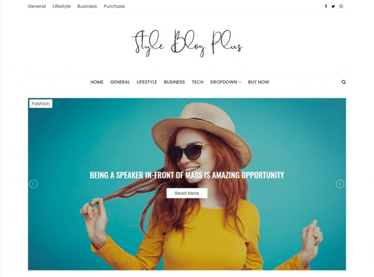 StyleBlog-top-best-premium-seo-friendly-WordPress-themes-EverestThemes