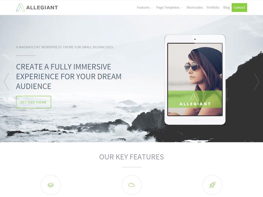 Allegiant-top-free-responsive-business-WordPress-themes-EverestThemes