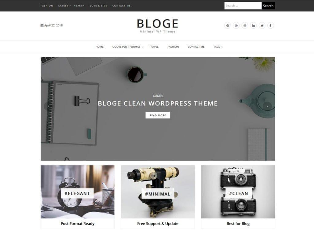 Bloge-WordPress-Themes-for-Personal-Blog-EverestThemes
