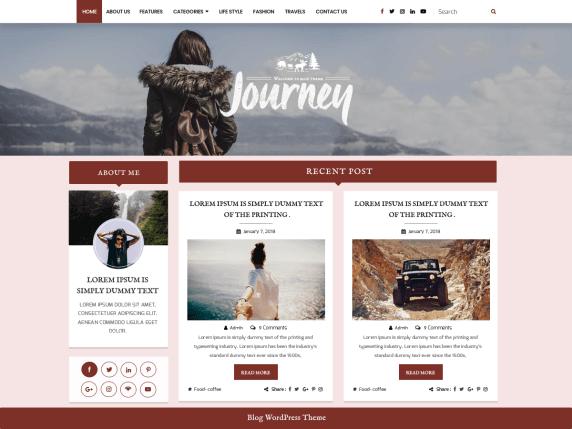 BloggerHub-best-free-responsive-blog-WordPress-themes-EverestThemes