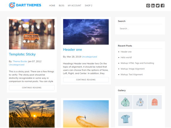 Bug-Blog-top-best-free-WordPress-themes-for-Writers-EverestThemes
