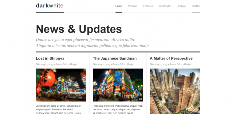 Premium WordPress Blog Theme