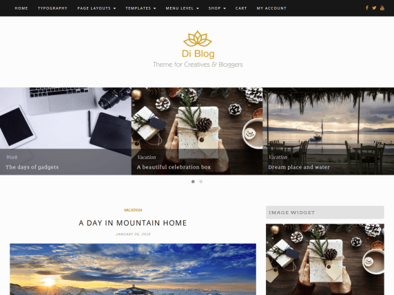DiBlog-best-free-responsive-blog-WordPress-theme-EverestThemes