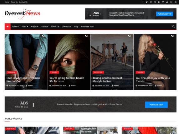 EverestNews-top-best-responsive-blog-WordPress-themes-EverestThemes