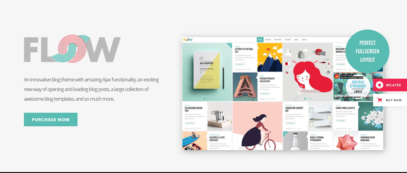 Flow-top-best-free-creative-blog-WordPress-theme-EverestThemes