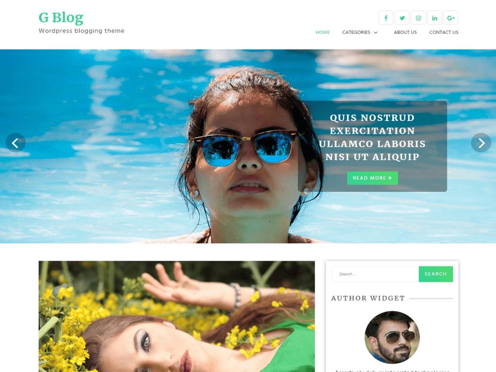 GBlog-best-free-responsive-Blog-WordPress-themes-EverestThemes