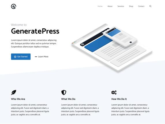 GeneratePress-top-best-free-elementor-WordPress-themes-EverestThemes