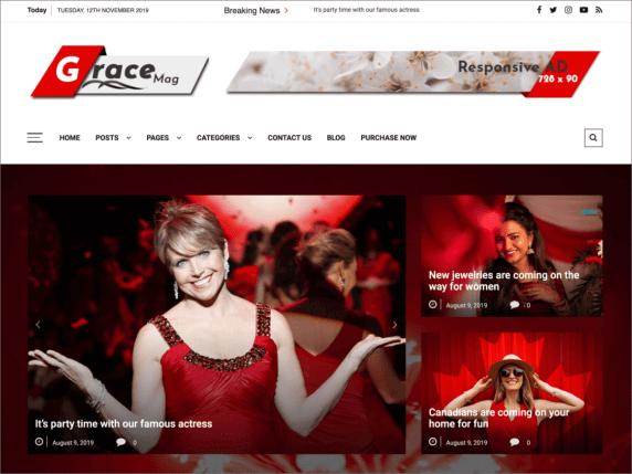 GraceMag-top-best-free-responsive-WordPress-themes-EverestThemes