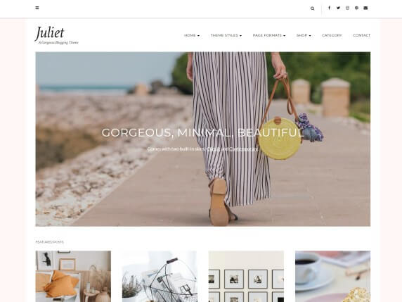 Juliet-top-best-free-feminine-WordPress-themes-EverestThemes