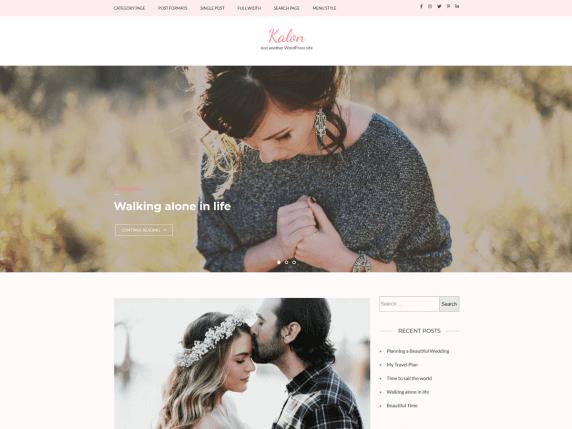 Kalon-top-best-free-feminine-WordPress-themes-EverestThemes
