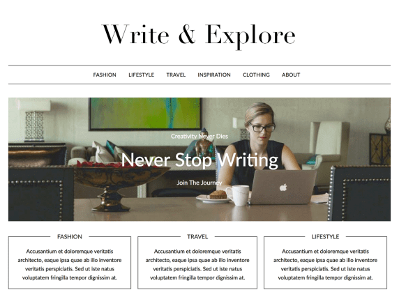 MinimalisticBlogger-top-best-free-WordPress-theme-for-writers-EverestThemes