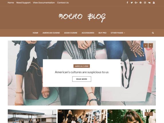 Mocho-Blog-top-best-free-feminine-WordPress-themes-EverestThemes