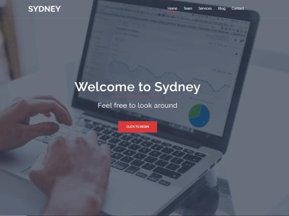 Sydney-top-best-free-elementor-WordPress-themes-EverestThemes