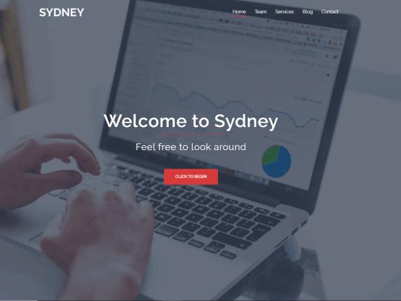 Sydney-top-free-responsive-business-WordPress-themes-EverestThemes
