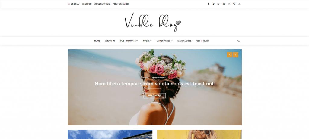 ViableBlog-best-free-blogging-WordPress-themes-EverestThemes