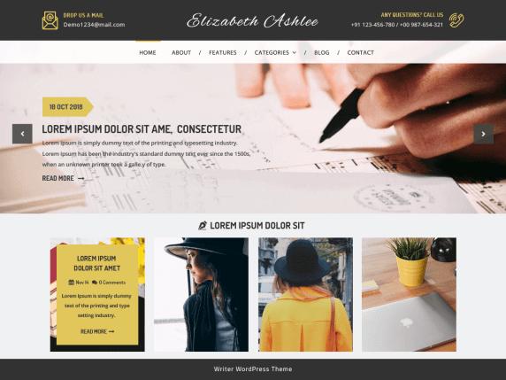 VW-Writer-Blog-top-best-free-WordPress-themes-for-writers-EverestThemes