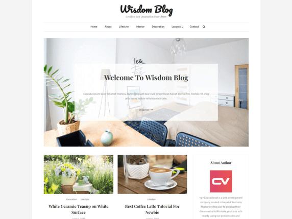 WisdomBlog-best-free-responsive-blog-WordPress-themes-EverestThemes