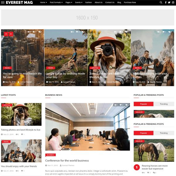 EverestNews-best-free-responsive-news-WordPress-themes-EverestThemes