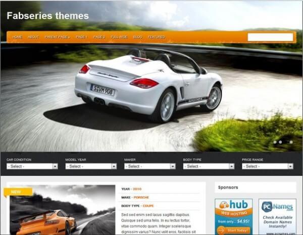 classified WordPress theme