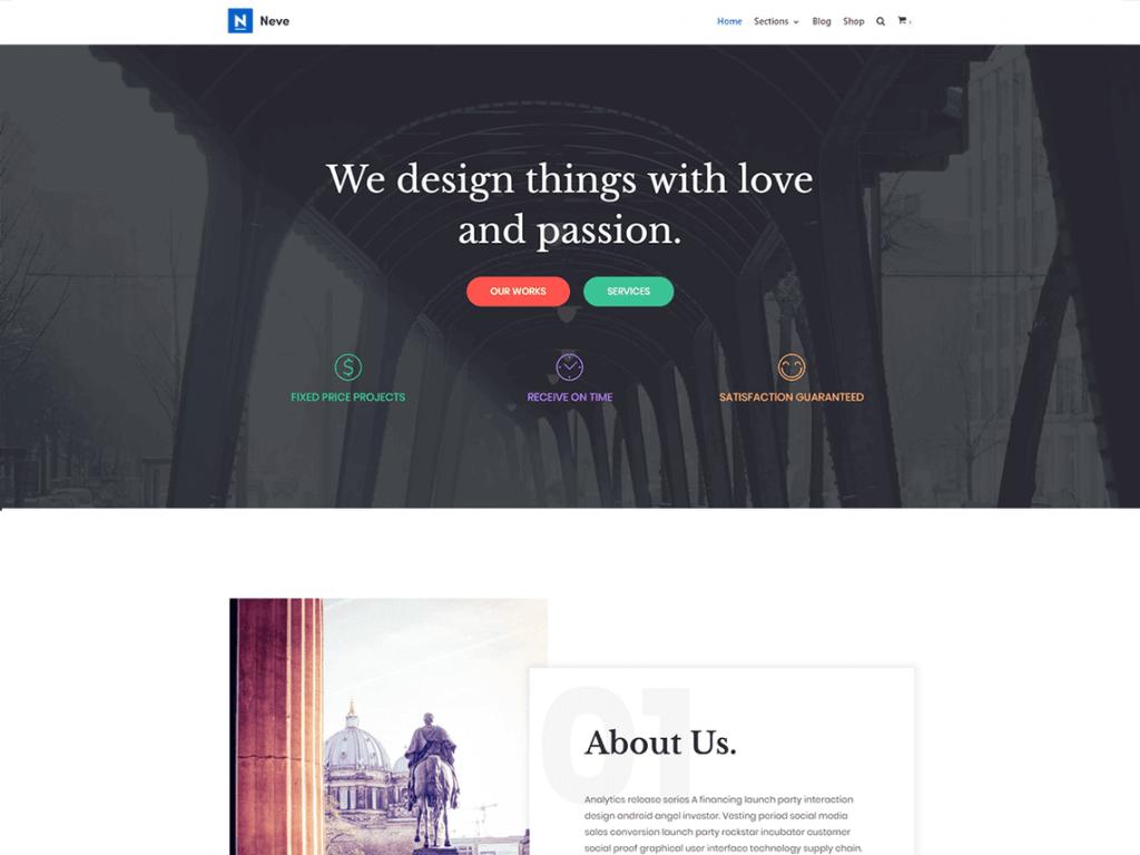 One-Page WordPress Themes