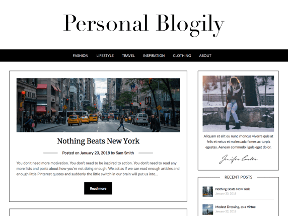 PersonalBlogly-best-free-WordPress-themes-for-personal-blog-EverestThemes