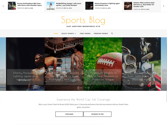 SportsBlog-best-free-responsive-blog-WordPress-themes-EverestThemes