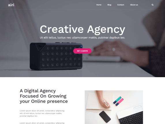 Airi-top-best-free-responsive-business-WordPress-themes-EverestThemes
