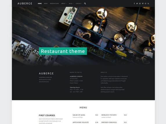 Auberge-best-free-responsive-blog-WordPress-themes-EverestThemes