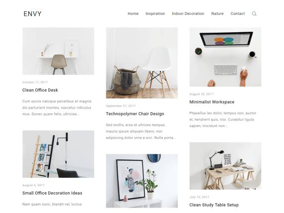 Envy-best-free-responsive-blog-WordPress-themes-EverestThemes