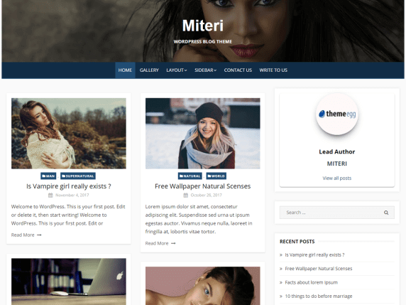 Miteri-best-free-responsive-blog-WordPress-themes-EverestThemes