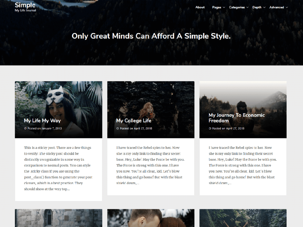 Newspaperly-best-free-responsive-WordPress-Themes-for-Personal-Blog-EverestThemes