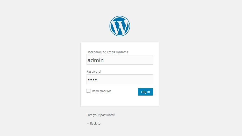 WordPress Login URL