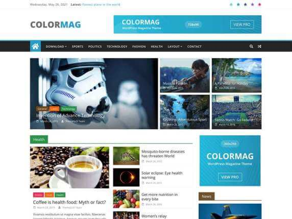 ColorMag-top-best-free-popular-WordPress-themes-EverestThemes