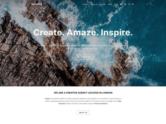 Inspiro-top-most-popular-WordPress-theme-EverestThemes