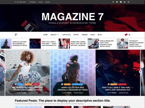 Magazine7-top-best-free-magazine-blog-WordPress-themes-EverestThemes