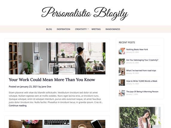 Personalistio-Blog-top-best-free-blogging-WordPress-theme-EverestThemes