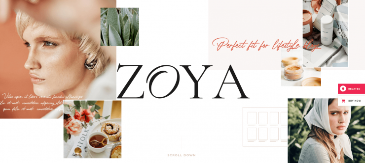 Zoya-top-best premium-blog-WordPress-themes-EverestThemes