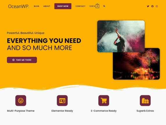 OceanWP-top-most-popular-and-free-WordPress-themes-EverestThemes