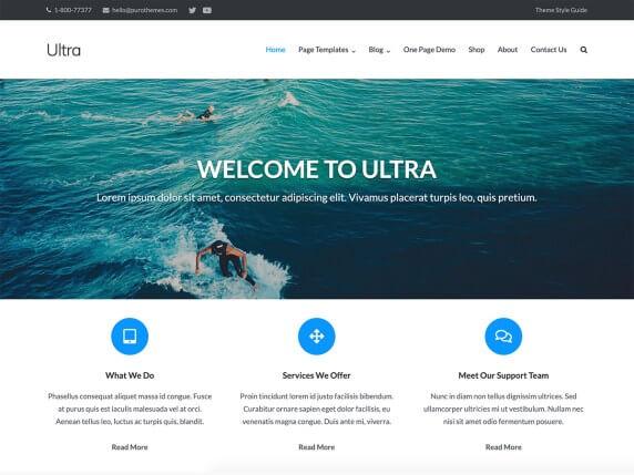 Ultra-top-best-free-business-WordPress-theme-EverestThemes